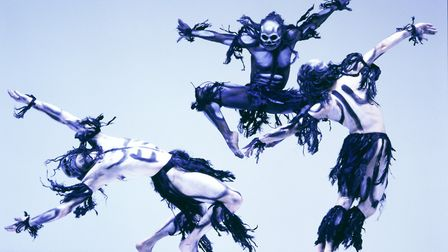Rambert are presenting Christopher Bruce's iconic Ghost Dances as part of their latest tour. Photo: