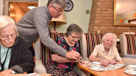 The Laurels Care Home in Attlebrough are improving their reputation. Residents take part in activiti