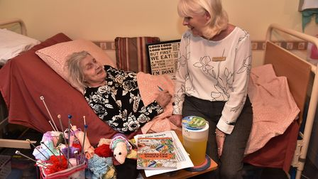 The Laurels Care Home in Attlebrough are improving their reputation. Manager Frances Pugh chats with
