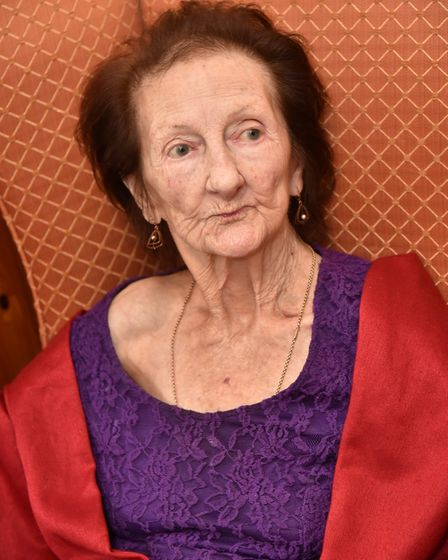 The Laurels Care Home in Attlebrough are improving their reputation. Temporary resident Rosina Lodge