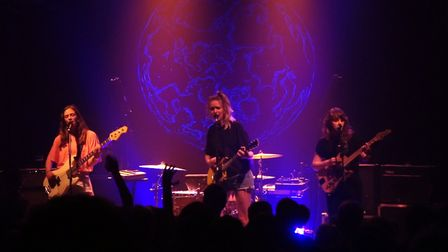 The Big Moon performing at Norwich Arts Centre. Photo: Lewis/YNAF Comms