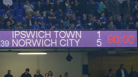 There is much to admire about Ipswich Town - their fine electronic scoreboard, for example, as pictu