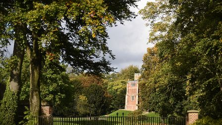 Afternoon sunshine rests on the Red Mount Chapel in The Walks, King's Lynn. Picture: Ian Burt