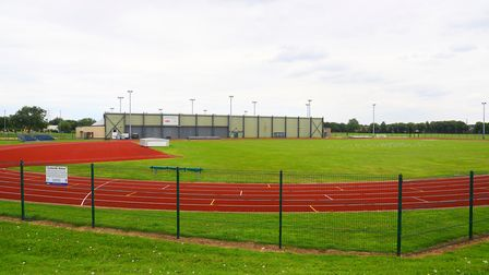 The running track at Lynnsport Leisure Park in King's Lynn. Picture: Ian Burt