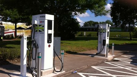 The UK network of charging points for electric cars is growing all the time. Picture: Andy Russell