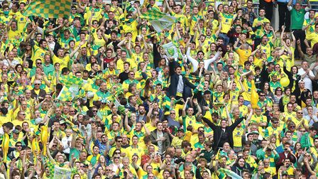 More than 8,000 Norwich City fans will travel to Arsenal. Picture by Paul Chesterton/Focus Images Lt
