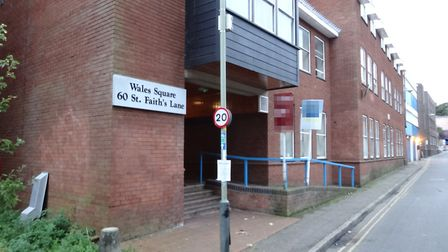60 St Faith's Lane in Norwich where Max Estates is set to convert an aparthotel into 41 flats. Photo