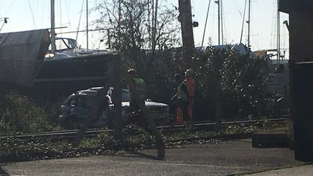 British Transport Police are investigating the incident. Picture: GEMMA MITCHELL