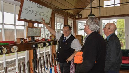 Learn to be a signalman with the North Norfolk Railway. Pictures: Leigh Caudwell
