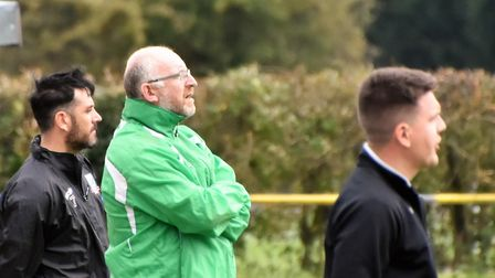 Gorleston manager Stewart Larter is still waiting for his first win since returning to Emerald Park