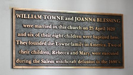 Two family members from Great Yarmouth were executed as part of the Salem witch trials in 1690s. The