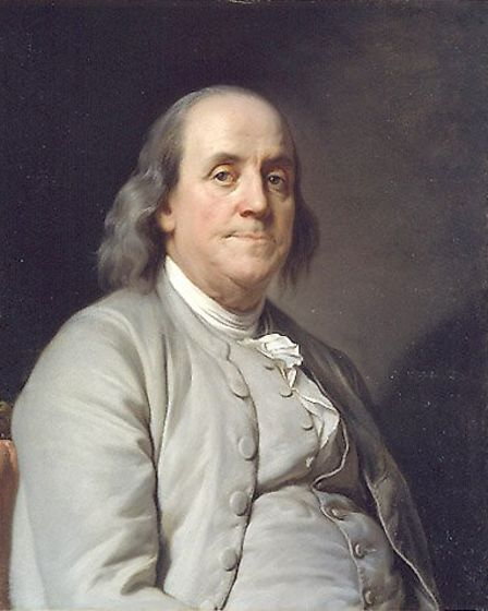 Portrait of Benjamin Franklin who had family from Norwich. Picture: Archant Library