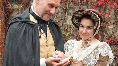 Julian Harries and Eloise Kay in The Old Curiosity Shop. Photo: Common Ground