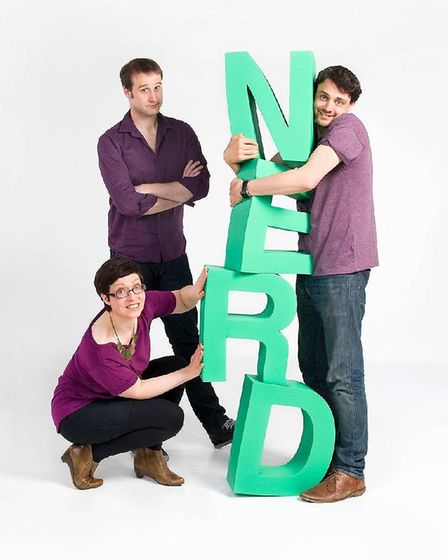 Festival of the Spoken Nerd are performing as part of Norwich Science Festival. Photo: Submitted
