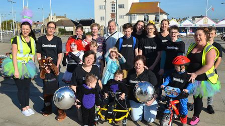 Cohen's Wish For Wheels was set up to raise funds for a much needed wheelchair. Photo: Mick Howes.