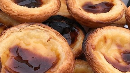 Past�is de Nata made by Joaquim Teles. Photo supplied by Ana Teles.