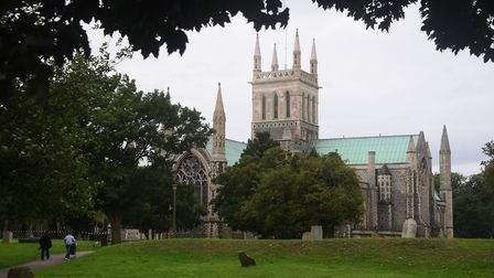 The Minster Church of St Nicholas at Great Yarmouth. Picture: DENISE BRADLEY