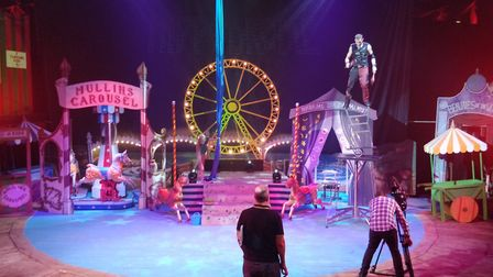 The stage is set for the annual Spooktacular at Great Yarmouth's Hippodrome Circus. Photo: Hippodrom