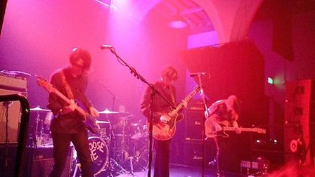Indie rockers Peace played the final night of Norwich Sound and Vision festival at the Arts Centre.