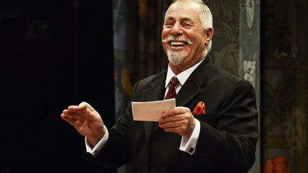 Barrie Rutter as Fuller in For Love or Money which is showing at The Theatre Royal in Bury St Edmund