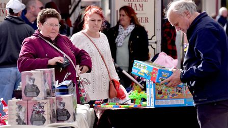 Pitches could soon cost a lot less on Great Yarmouth's two day market. Picture: Nick Butcher