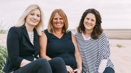 The team from north Norfolk lettings agency Salt (L-R) Sylvia Bradshaw, Amanda Howarth and Lucy Down