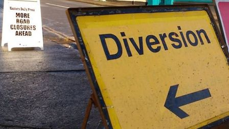 Road works in Tharston will close Chequers Road. Picture: Archant Libary