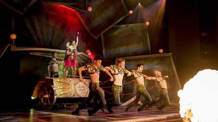 The Band, the new musical by Tim Firth with the music of Take That, is coming to Norwich Theatre Roy