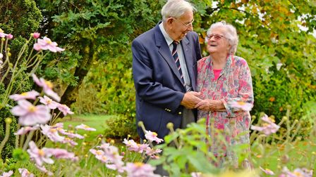 Bryan and Eileen Chubbock celebrate 70 years of marriage. Byline: Sonya Duncan Copyright: Archant 20