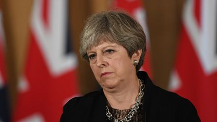 Theresa May faces a crunch conference. (AAP Image/Lukas Coch)