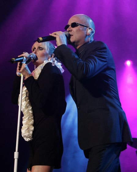 The Human League will be at Let's Rock Norwich! 2018. Picture Yui Mok/PA Wire