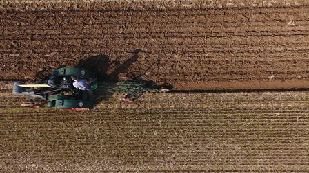 Skeyton Trosh 2017, photographed from the air on a drone-mounted camera. Picture: Tim Kitson