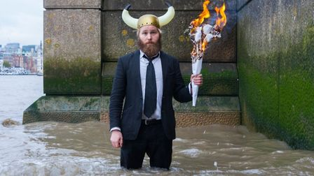James Rowland's show Team Viking will be performed at The Burston Crown. Photo: Tangram Theatre
