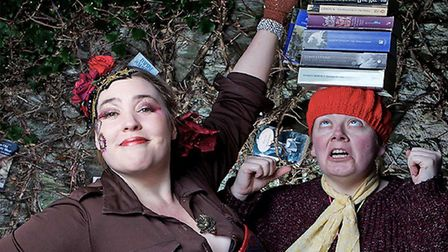 Scary Little Girls are bringing their shows The Full Brontë and Storysmiths to local pubs. Photo: Su
