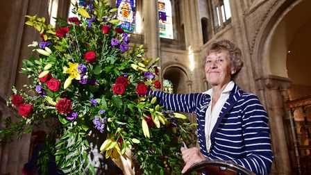 Norwich Cathedral Flower Guild celebrates its 70th anniversary with an exhibition marking the last 7