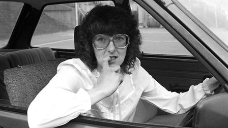 Lynne's big hair in the 80s. Photo: Archant