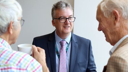 Adrian Matthews, new non-executive director at Norfolk and Suffolk NHS Foundation Trust (NSFT). Phot