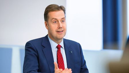 Andy Briggs, chief executive of UK Insurance and Global Life and Health at Aviva. Picture: Aviva
