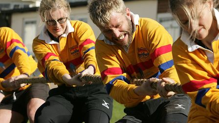 The 38th annual tug-of-war contest is set to take place at Kessingland Park Resorts this weekend. Pi