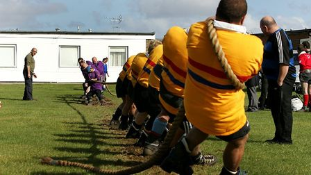 Last year saw Thames Valley (yellow) take on Hadleigh (purple). Picture: Rob Colman
