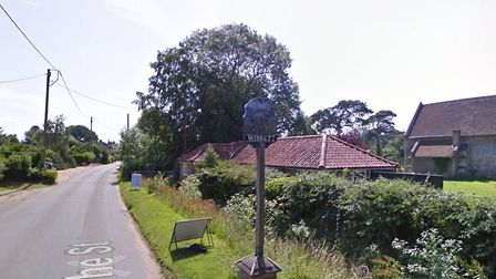 Essential work to upgrade the water supply network will be carried out in Wissett. Picture: Google.