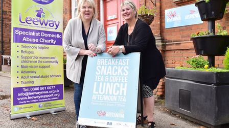 Britannia Enterprises sets out to raise �1000 for local domestic abuse charity, Leeway, this Christm