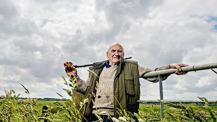 Tony West, of Lowestoft, who was one of the contributors to Suffolk Wildlife Trust's Growing Up Wild