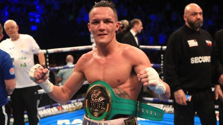Josh Warrington faces Dennis Ceylan in Leeds later this month. Picture: PA