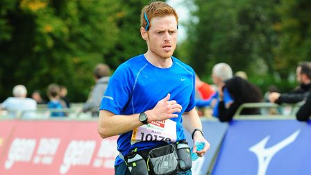 Mark Armstrong takes part in his last big race of the year this weekend in the Royal Parks Half Mara