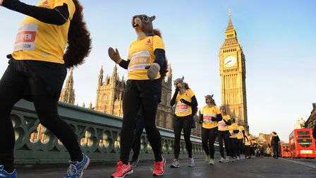 Mark Armstrong is taking part in the the Royal Parks Half Marathon this weekend, but not dressed as