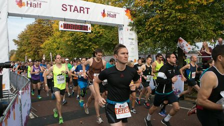 Mark Armstrong is taking part in the the Royal Parks Half Marathon this weekend. Picture: PA