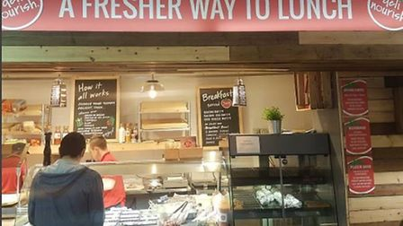 Deli Nourish on Prince of Wales Road, a new local independent business. Photo: Deli Nourish.
