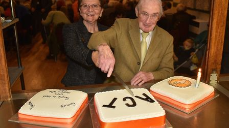 Aylsham & District Care Trust celebrated its 31st anniversary in April. Founder Rees Coghlan and cha