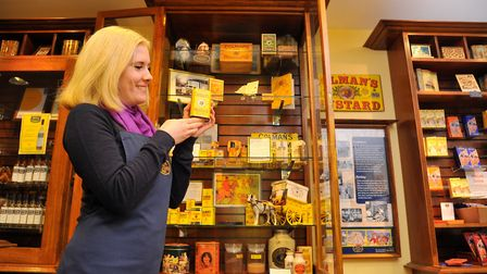 The Mustard Shop and Museum in the Royal Arcade, Norwichhad been named on a CNN list of top food mus